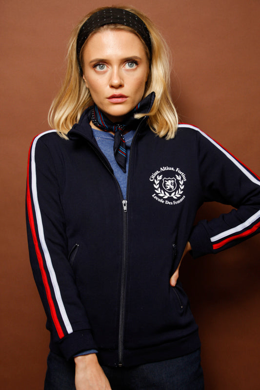 L'ECOLE DES FEMMES EQUIPE DE FRANCE TRACK JACKET - Cloak and Dagger NYC