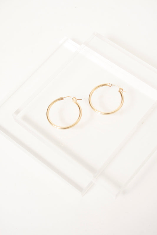 BARE & GOLDEN PHARAOH HOOPS - Cloak and Dagger NYC