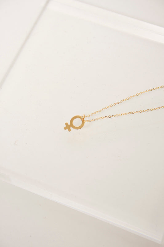 BARE & GOLDEN DEMIGODESS NECKLACE - Cloak and Dagger NYC