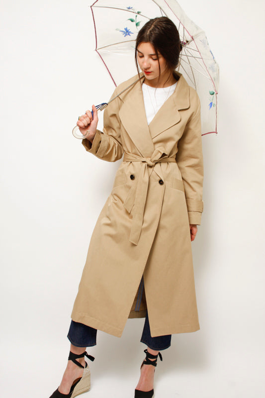 SESSUN TAILORS BAY LARGE TRENCH COAT - Cloak and Dagger NYC