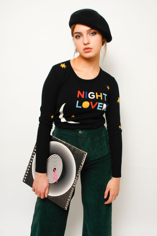 STONED IMMACULATE NIGHT LOVERS SWEATER