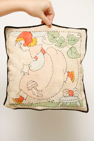 VINTAGE NURSERY STORY PILLOW
