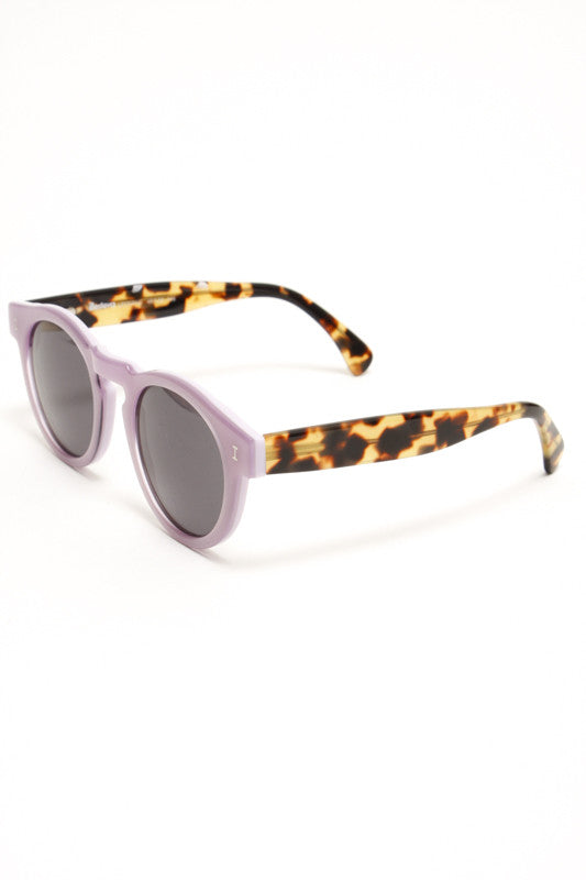 ILLESTEVA LEONARD PURPLE TORT SUNGLASSES - Cloak and Dagger NYC