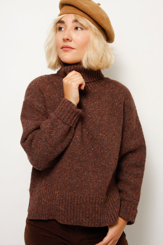 JETSON CROPPED SWEATER