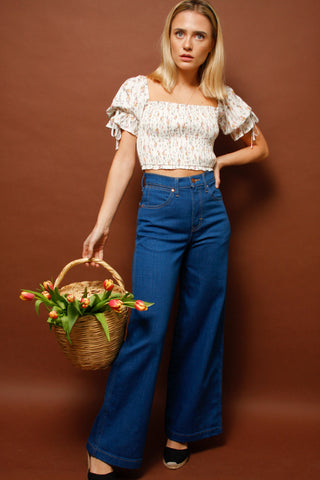 WRANGLER WIDE LEG LONG JEAN