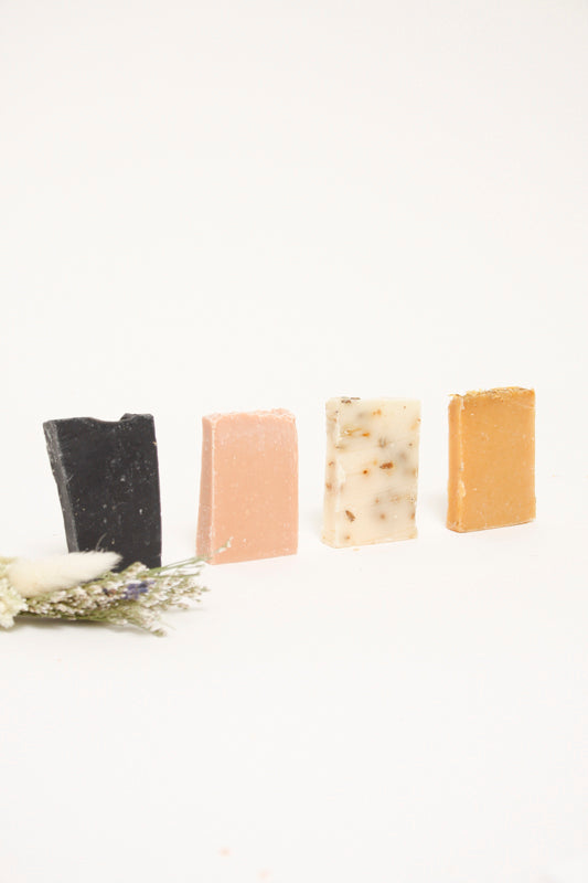 AMONG THE FLOWERS SOAP SAMPLER SET - Cloak and Dagger NYC