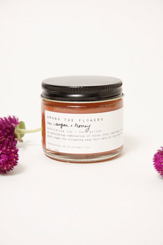 AMONG THE FLOWERS HONEY + SUGAR LIP/FACE POLISH