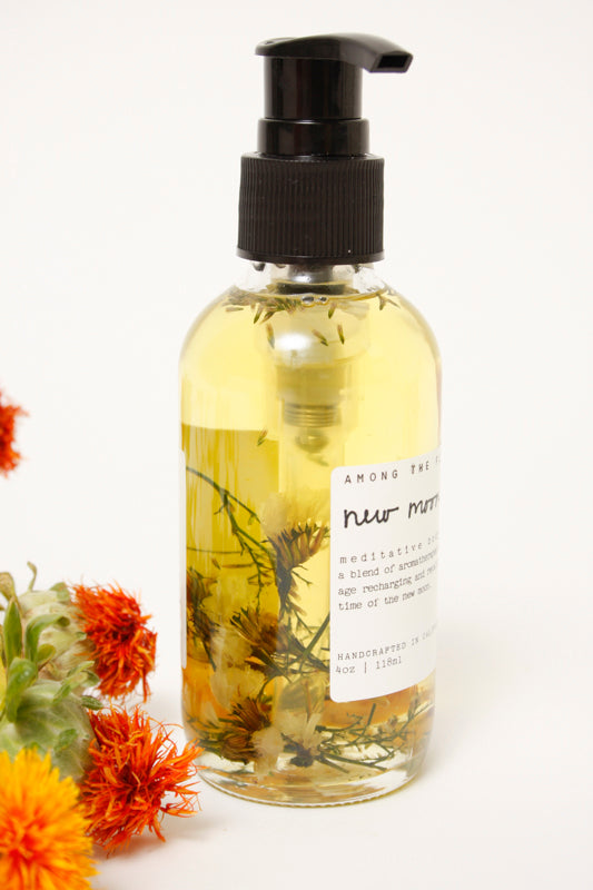 AMONG THE FLOWERS NEW MOON BODY OIL - Cloak and Dagger NYC