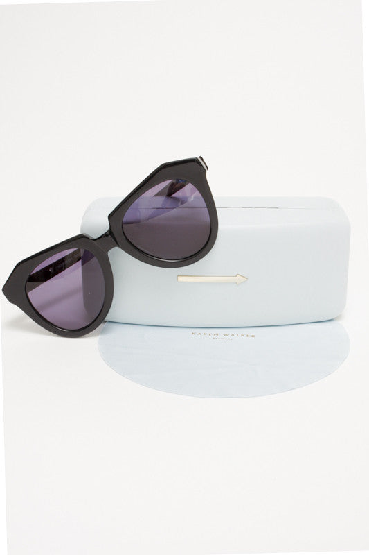 Karen Walker No 1 Black - Cloak and Dagger NYC