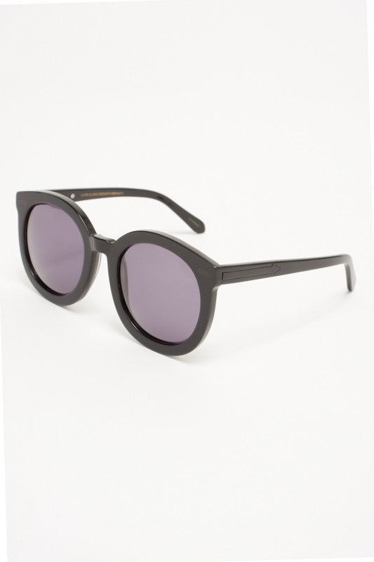 Karen Walker Super Duper Black - Cloak and Dagger NYC
