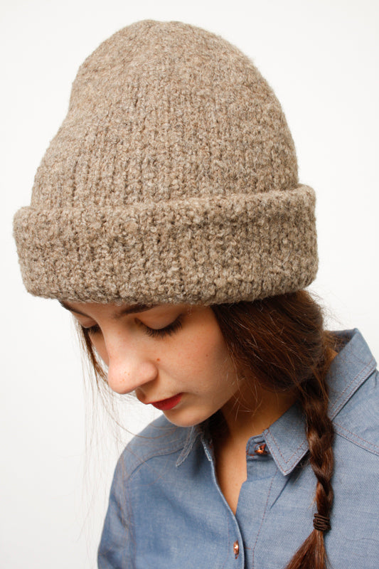 KORDAL POLAR BEANIE, FRENCH BROWN - Cloak and Dagger NYC