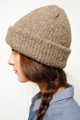 KORDAL POLAR BEANIE, FRENCH BROWN