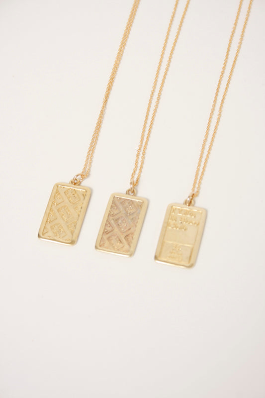 I LIKE IT HERE CLUB INGOT NECKLACE - Cloak and Dagger NYC