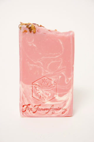 FOX FARM APIARY WILD SUMMER ROSE SOAP