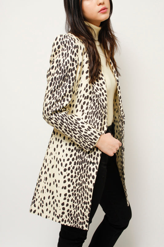 EMERSON FRY WINGTIP LEOPARD BLAZER COAT - Cloak and Dagger NYC
