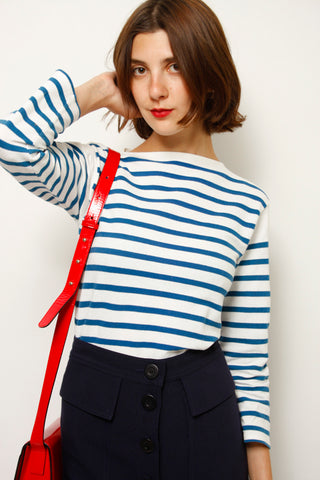 VINTAGE 40'S STRIPED TOP