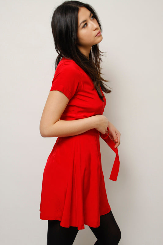 L'ECOLE DES FEMMES LITTLE RED DRESS