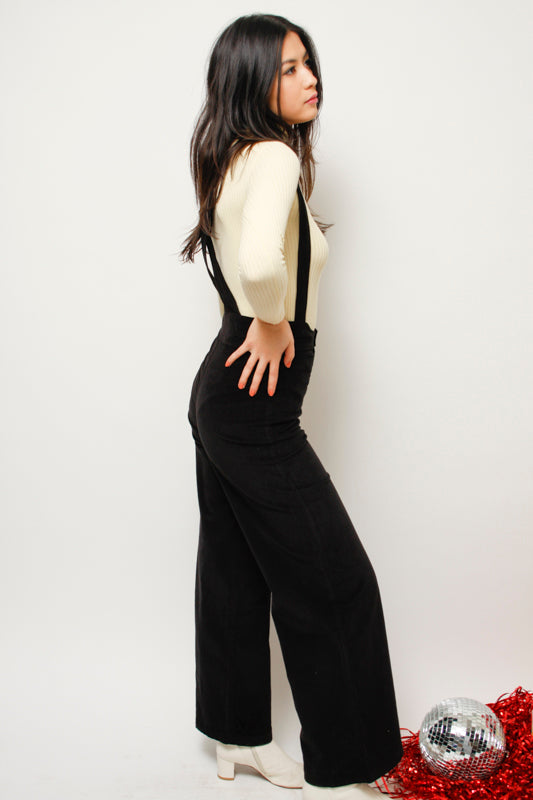 SUGARHIGH + LOVESTONED WOODY SUSPENDER PANT