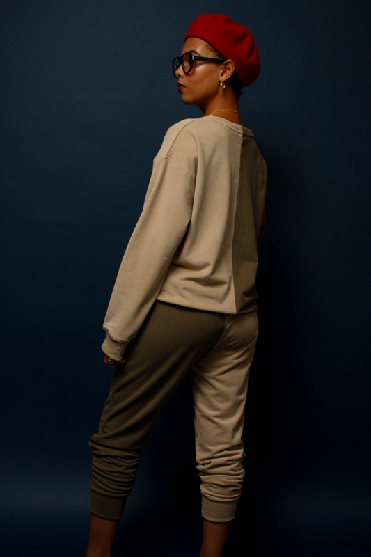 SPLICE DUO TONE SWEATPANT