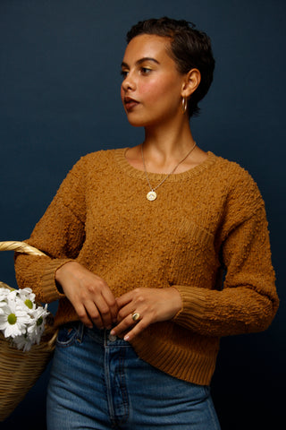 PATTIE POCKET KNIT SWEATER