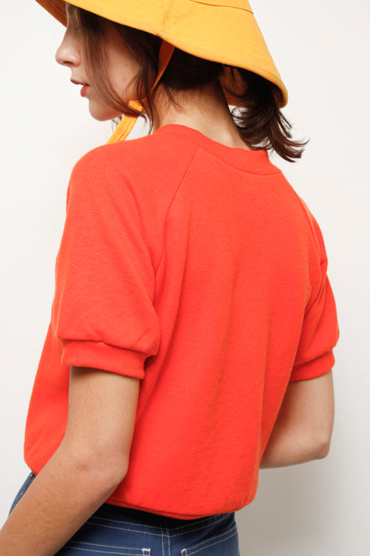 LYKKE WULLF HALL SHORT SLEEVE SWEATSHIRT - Cloak and Dagger NYC