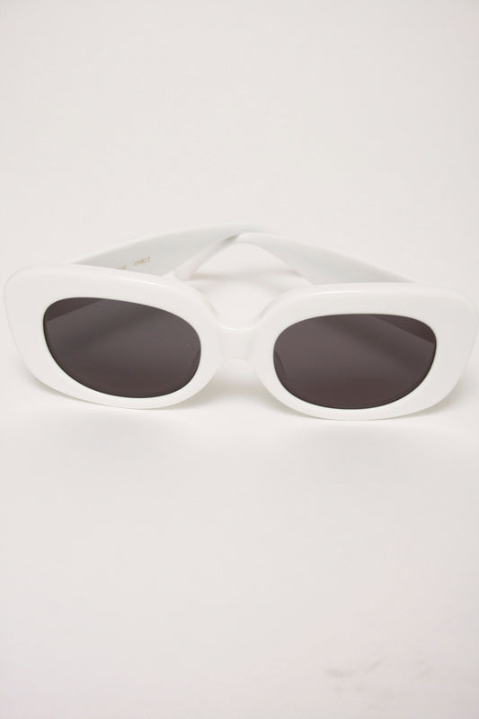 CRAP EYEWEAR VELVET MIRROR, WHITE - Cloak and Dagger NYC