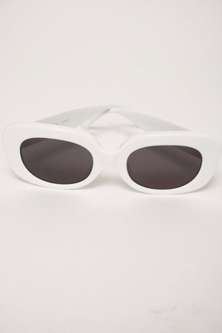 CRAP EYEWEAR VELVET MIRROR, WHITE
