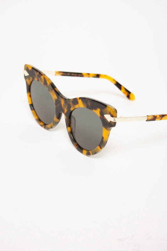 ce659947154 KAREN WALKER MISS LARK TORT SUNGLASSES – Cloak and Dagger NYC