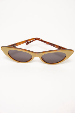 CRAP EYEWEAR THE ULTRA JUNGLE, GOLD GLITTER/TORTOISE