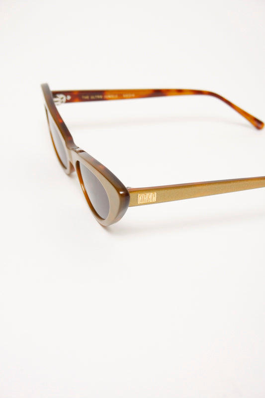 CRAP EYEWEAR THE ULTRA JUNGLE, GOLD GLITTER/TORTOISE - Cloak and Dagger NYC