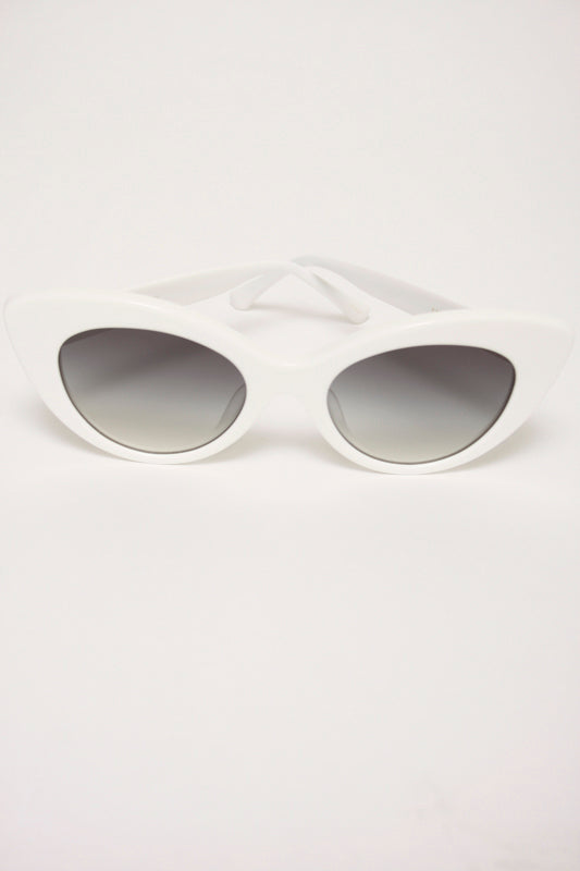 CRAP EYEWEAR, The Wild Gift, white - Cloak and Dagger NYC