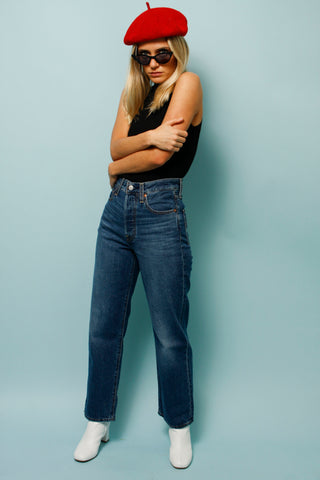 LEVIS RIBCAGE STRAIGHT JEANS