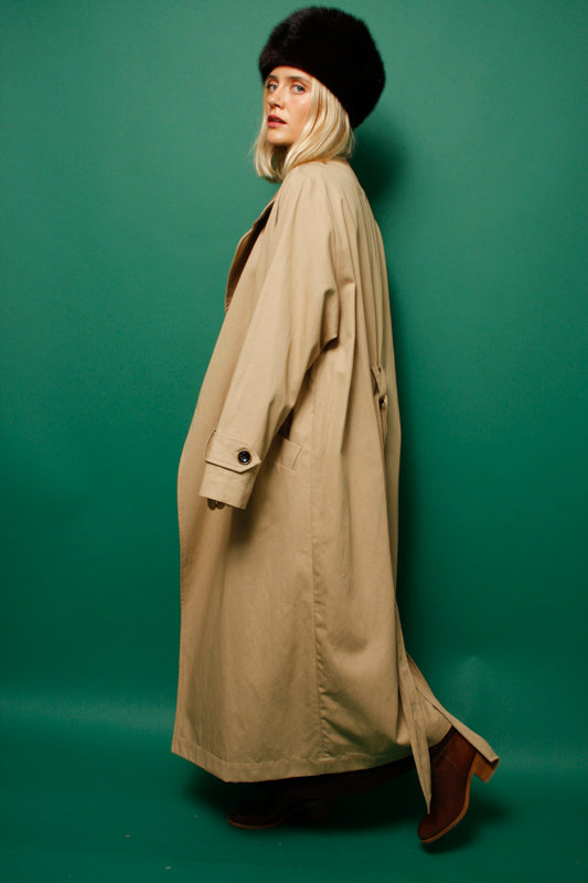 SESSUN TAILORS BAY LARGE TRENCH COAT