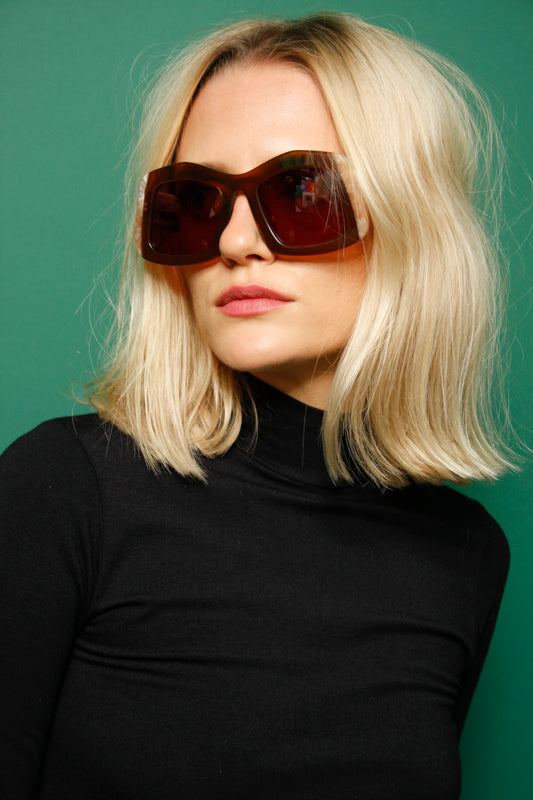 KAREN WALKER WYNDHAM OVERSIZED SUNNIES - Cloak and Dagger NYC