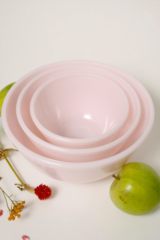 PALE PINK NESTING BOWLS - Cloak and Dagger NYC
