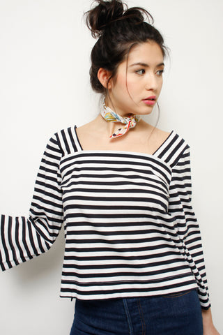 DEMYLEE ELLIOTTE STRIPE TOP