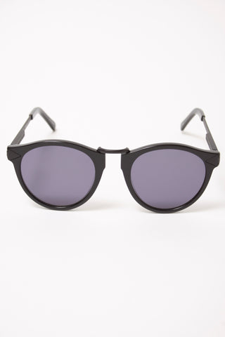 KAREN WALKER HEMINGWAY BLACK POLARIZED