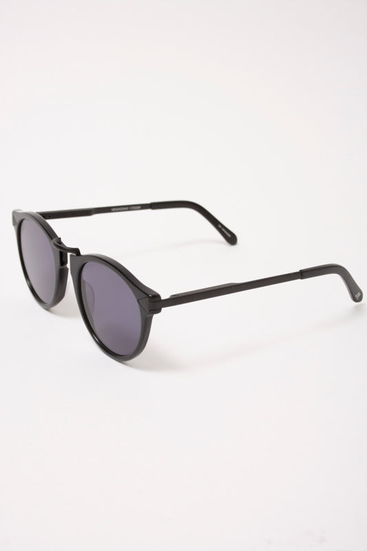 KAREN WALKER HEMINGWAY BLACK POLARIZED - Cloak and Dagger NYC
