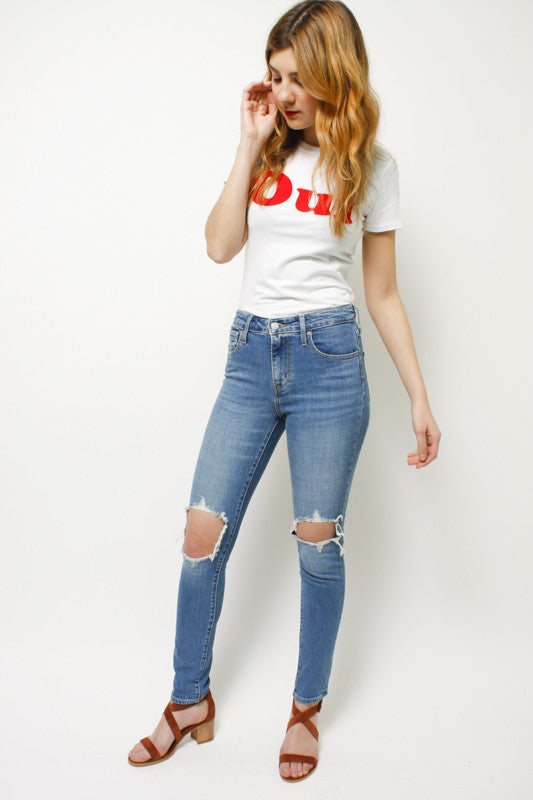 LEVI'S 721 HIGH RISE SKINNY JEAN