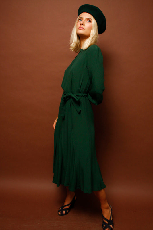 SESSUN NORALIA MIDI DRESS