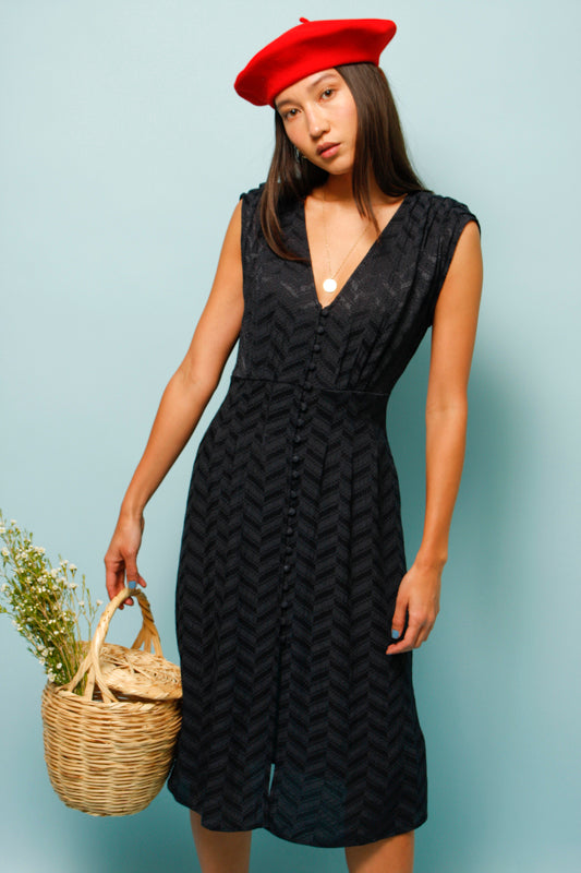 SESSUN ISOLA BELLA BUTTON FRONT DRESS