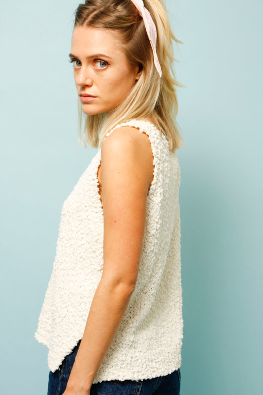 LOUISE KNIT TANK TOP