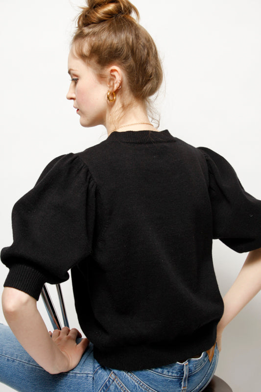 THE SUZETTE BALLOON SLEEVE SWEATER