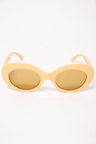 CRAP EYEWEAR, THE LOVE TEMPO, mustard