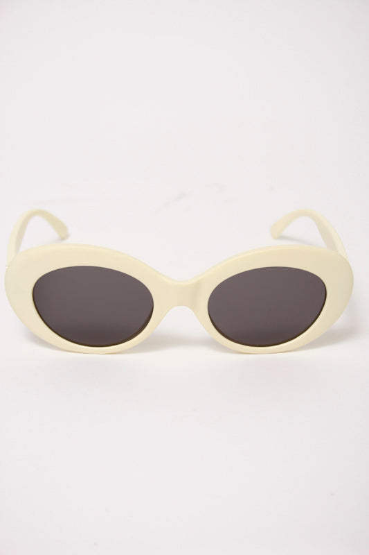 CRAP EYEWEAR, THE LOVE TEMPO, matte eggshell - Cloak and Dagger NYC