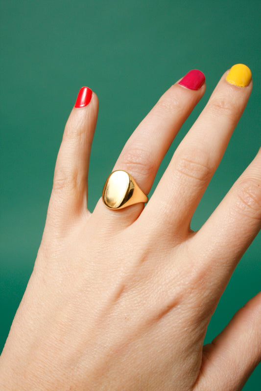MEREWIF ELIOT SIGNET RING - Cloak and Dagger NYC