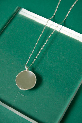 MEREWIF MARIS NECKLACE, SILVER