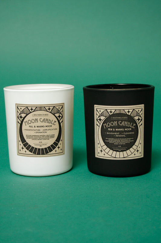 J. SOUTHERN STUDIO FULL MOON RITUAL CANDLE - Cloak and Dagger NYC