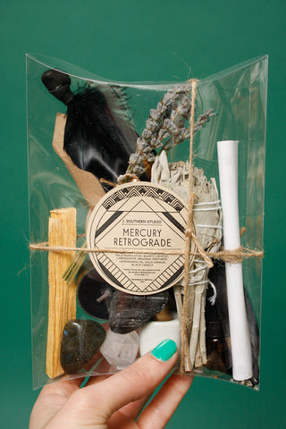 J. SOUTHERN STUDIO MERCURY RETROGRADE DELUXE RITUAL KIT