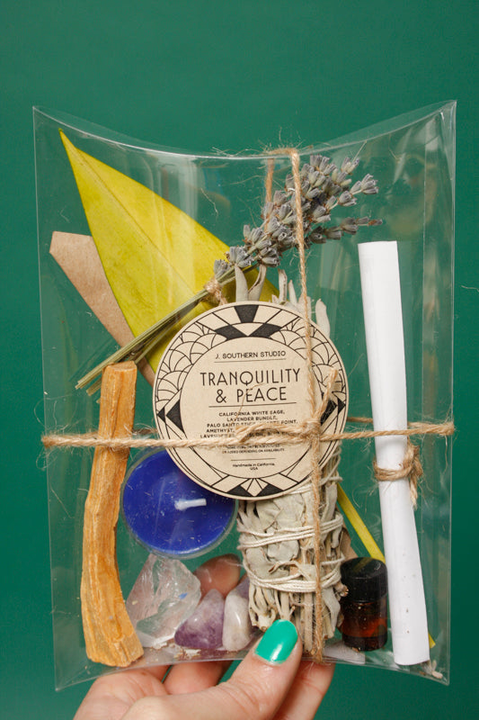 J. SOUTHERN STUDIO TRANQUILITY & PEACE RITUAL KIT - Cloak and Dagger NYC